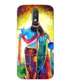 Radha Krishna Moto G4 Plus Mobile Cover