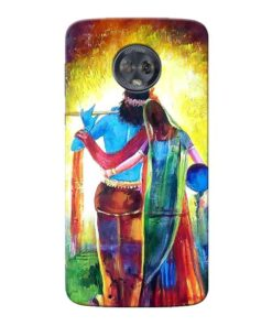Radha Krishna Moto G6 Mobile Cover