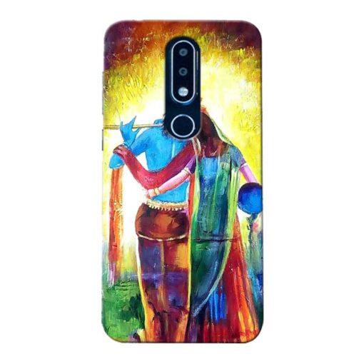 Radha Krishna Nokia 6.1 Plus Mobile Cover