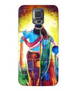Radha Krishna Samsung Galaxy S5 Mobile Cover