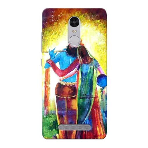 Radha Krishna Xiaomi Redmi Note 3 Mobile Cover