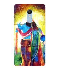 Radha Krishna Xiaomi Redmi Note 4 Mobile Cover