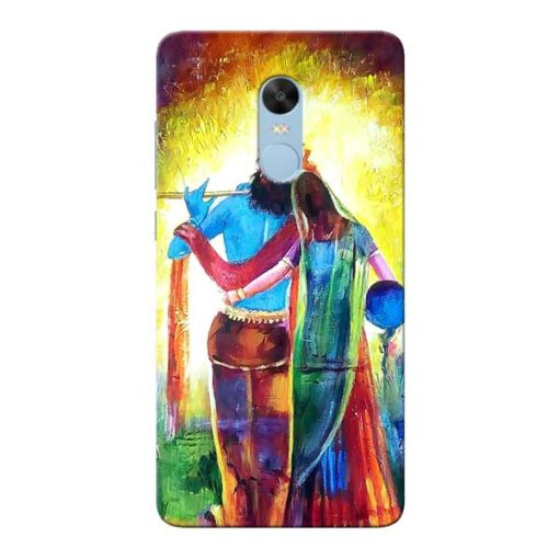 Radha Krishna Xiaomi Redmi Note 4 Mobile Cover