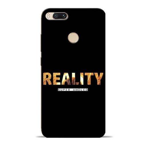Reality Super Mi A1 Mobile Cover