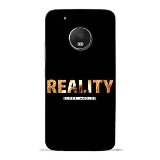 Reality Super Moto G5 Plus Mobile Cover