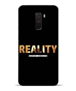 Reality Super Poco F1 Mobile Cover