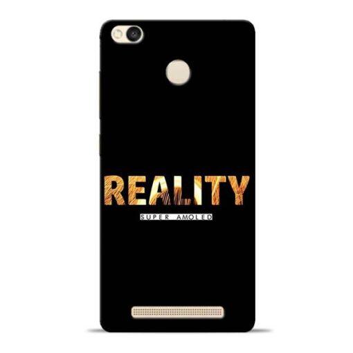 Reality Super Redmi 3s Prime Mobile Cover