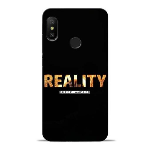 Reality Super Redmi 6 Pro Mobile Cover