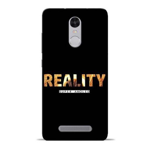 Reality Super Redmi Note 3 Mobile Cover