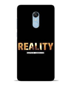 Reality Super Redmi Note 4 Mobile Cover