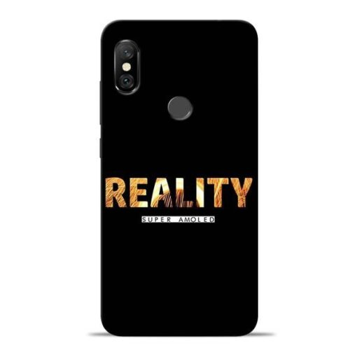Reality Super Redmi Note 6 Pro Mobile Cover