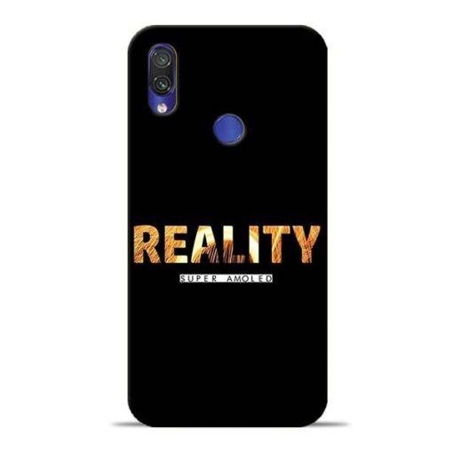 Reality Super Redmi Note 7 Pro Mobile Cover