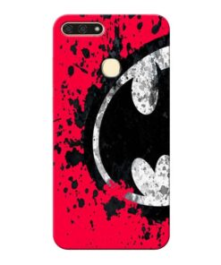 Red Batman Honor 7A Mobile Cover