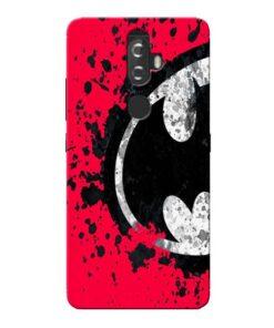 Red Batman Lenovo K8 Plus Mobile Cover