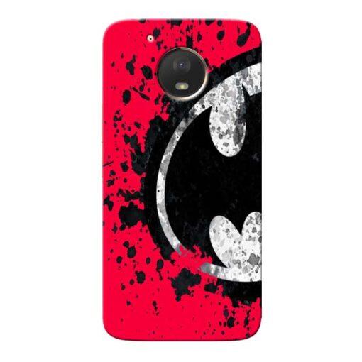 Red Batman Moto E4 Plus Mobile Cover