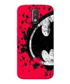 Red Batman Moto G4 Plus Mobile Cover
