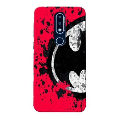 Red Batman Nokia 6.1 Plus Mobile Cover