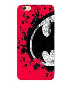 Red Batman Oppo F3 Mobile Cover