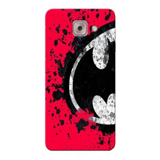 Red Batman Samsung Galaxy J7 Max Mobile Cover