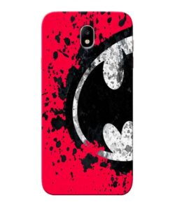 Red Batman Samsung Galaxy J7 Pro Mobile Cover