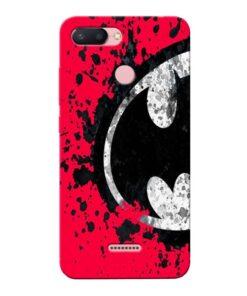 Red Batman Xiaomi Redmi 6 Mobile Cover