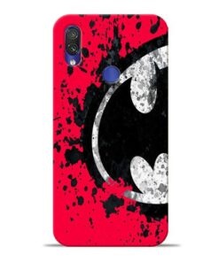 Red Batman Xiaomi Redmi Note 7 Pro Mobile Cover