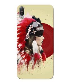 Red Cap Asus Zenfone Max Pro M1 Mobile Cover