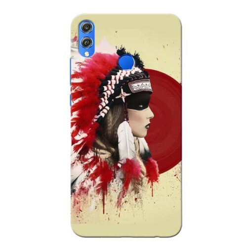 Red Cap Honor 8X Mobile Cover
