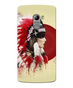 Red Cap Lenovo Vibe K4 Note Mobile Cover
