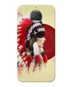 Red Cap Moto G5s Plus Mobile Cover
