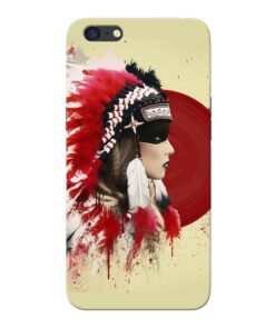 Red Cap Oppo A71 Mobile Cover