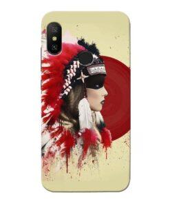 Red Cap Xiaomi Redmi 6 Pro Mobile Cover