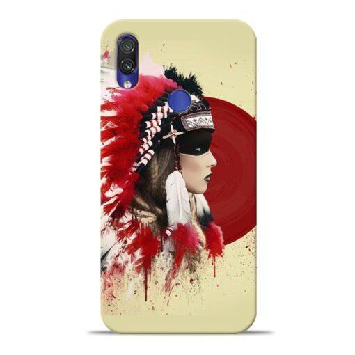 Red Cap Xiaomi Redmi Note 7 Mobile Cover
