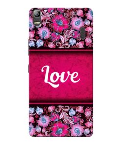 Red Love Lenovo K3 Note Mobile Cover