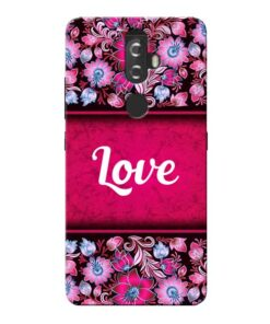 Red Love Lenovo K8 Plus Mobile Cover