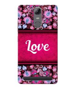 Red Love Lenovo Vibe K5 Note Mobile Cover