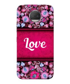 Red Love Moto G5s Plus Mobile Cover
