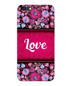 Red Love Oppo A71 Mobile Cover