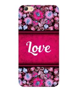 Red Love Oppo F3 Mobile Cover