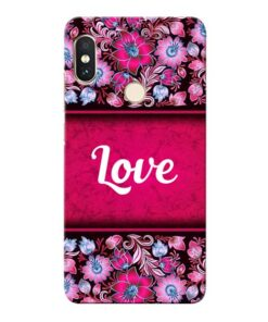 Red Love Xiaomi Redmi Note 5 Pro Mobile Cover
