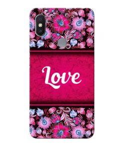 Red Love Xiaomi Redmi S2 Mobile Cover