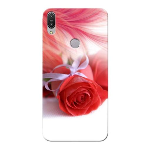 Red Rose Asus Zenfone Max Pro M1 Mobile Cover