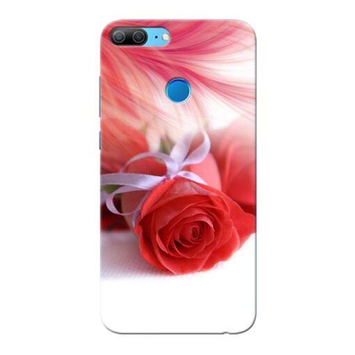 Red Rose Honor 9 Lite Mobile Cover