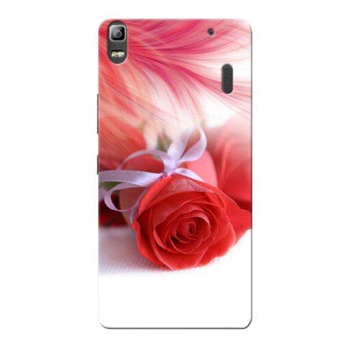 Red Rose Lenovo K3 Note Mobile Cover