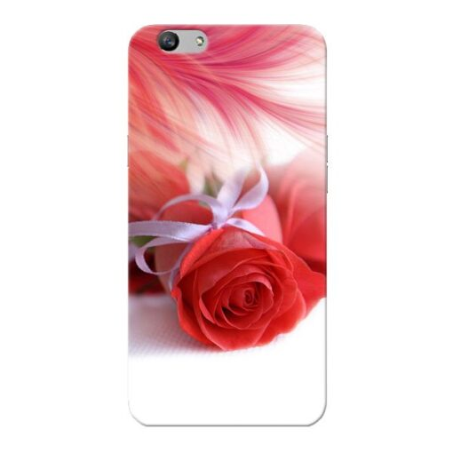 Red Rose Oppo F1s Mobile Cover