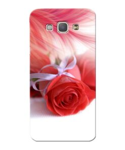 Red Rose Samsung Galaxy A8 2015 Mobile Cover