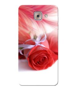 Red Rose Samsung Galaxy J7 Max Mobile Cover