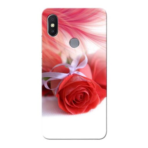 Red Rose Xiaomi Redmi Y2 Mobile Cover