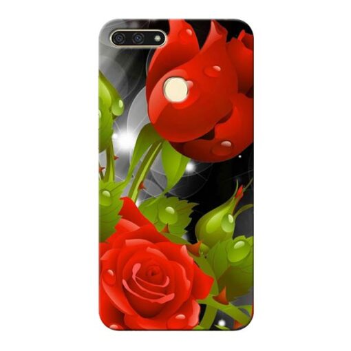 Rose Flower Honor 7A Mobile Cover