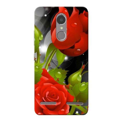 Rose Flower Lenovo K6 Power Mobile Cover